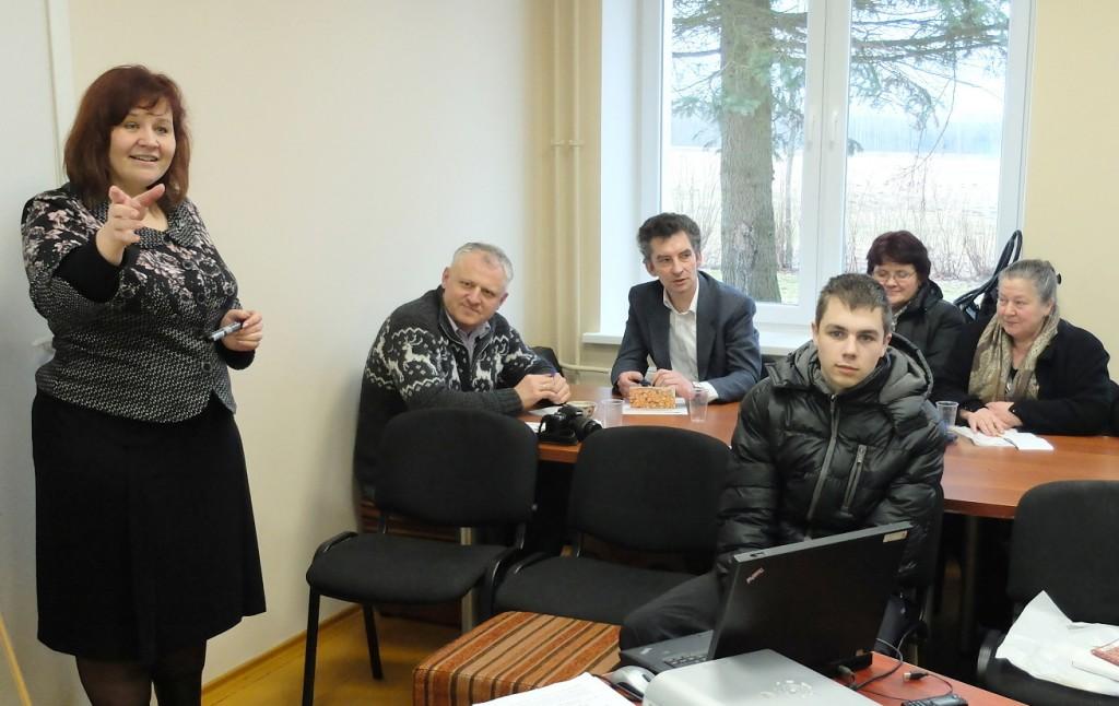 Ramučiuose vykusiame seminare lektorė dr. Vilma Atkočiūnienė skaitė du pranešimus.