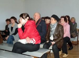 Pasiklausyti Pagėgių savivaldybės vadovų praėjusių metų veiklos ataskaitos susirinko  apie 30 Stoniškių gyventojų.