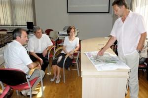 Šilutės vandens turizmo ir Šilutės miesto neužstatytų teritorijų formavimo specialiųjų planų koncepcijos aptarime tedalyvavo keli žmonės.