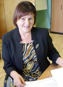 Švietimo skyriaus vedėja Birutė Tekorienė. Laimos Putriuvienės nuotr.