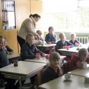 """Piktupėnų pagrindinės mokyklos mokiniai dalyvavo trečiadienio dienos akcijoje – """"Vandens galia""""."""