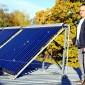 UAB Šilutės halės ūkvedys Arūnas Kakta mano, kad saulės kolektorius turėtų atsipirkti per 3-5  metus.