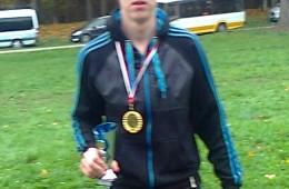Aurimas Bendžius Jurbarke iškovojo čempiono vardą.