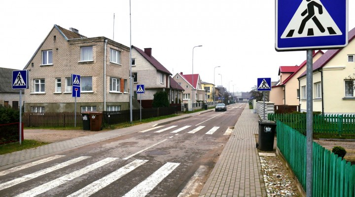 Kovo gatvė – perėjų rekordininkė.