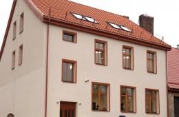 Ilgus metus buvusio Vilkyškių pradinės mokyklos pastato dalis virto moderniu turizmo informacijos centru.