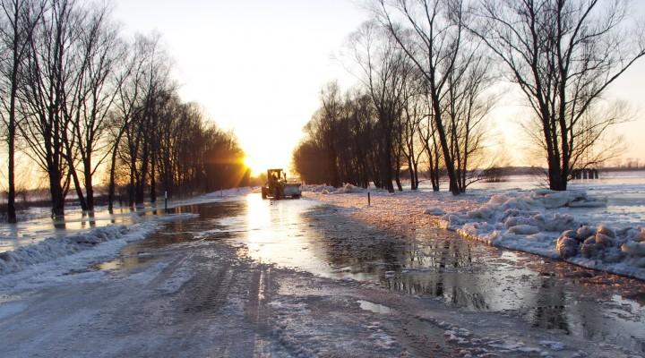 """Šiemet didesnio potvynio neprognozuojama. Nuotrauka iš """"Pamario"""" archyvo"""
