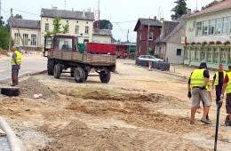 Intensyvūs Pagėgių miesto tvarkymo darbai prasidėjo 2010 m.