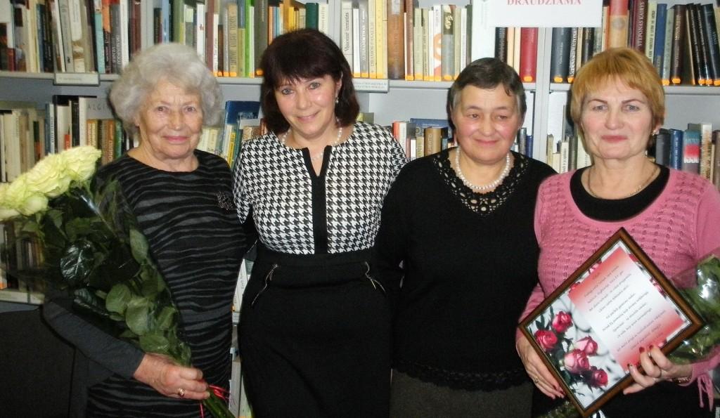 Iš kairės: Ada Gėrikienė, Virginija Budvytienė, Valentina Zdanevičienė ir Vida Martišauskienė.