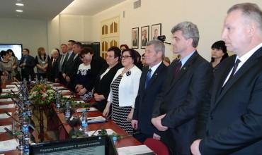 Pagėgių savivaldybės penktojo šaukimo Tarybos pirmasis posėdis.