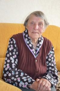 Ta pati Aldona šiandien ir nuotraukoje iš jos šeimos archyvo 1950-ais, iki tremties. Autorės nuotr.