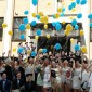 Su gimnazija atsisveikina Vydūno gimnazijos abiturientai.