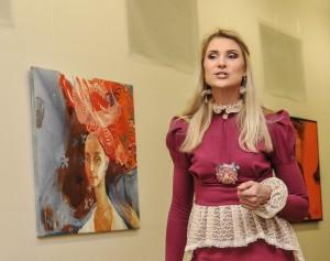 Renginio vedėja, komunikacijos specialistė Žydrė Dargužytė.