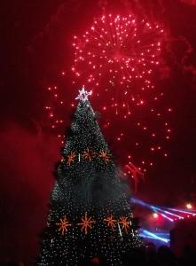 2015 m. Kalėdų eglutė Šilutėje.