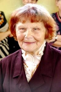 Senjorų mankštas lankė ir šilutiškė 91 metų amžiaus Emilija Baikauskienė.