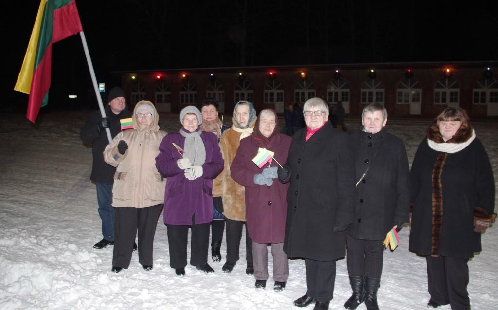 Į renginį atvyko Stubrių bendruomenės atstovai.