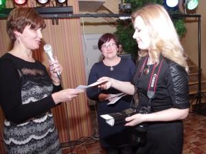 """Švėkšnos """"Saulės"""" gimnazijos direktorės D. Dirgėlienės padėka Danutei Gailiūnienei."""