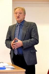 Su rengiama strategija susirinkusius supažindino Aleksandro Stulginskio universiteto docentas daktaras Vytautas Pilipavičius.