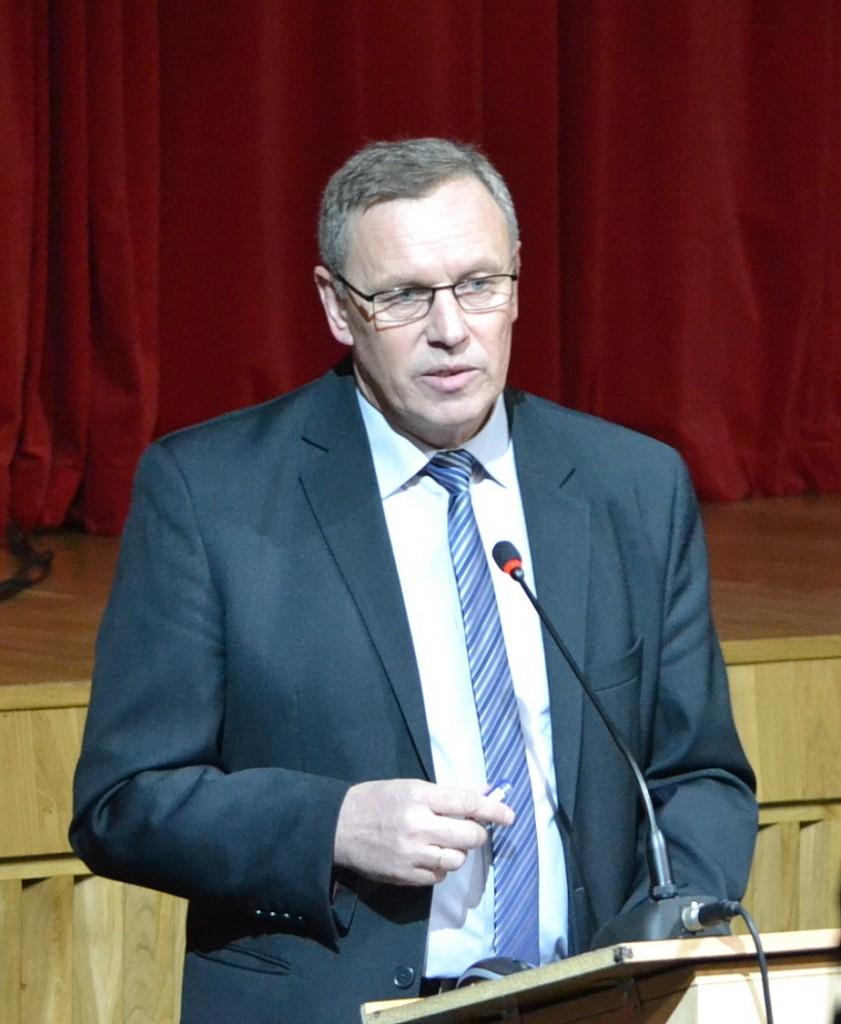 Remigijus Kelneris LŪS Pagėgių krašto ūkininkų skyriaus pirmininkas.