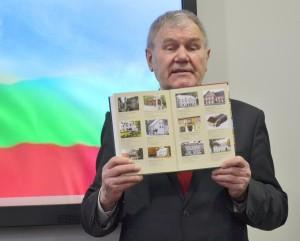 """""""Vorutos"""" fondo steigėjas ir vyriausiasis redaktorius Juozas Vercinkevičius."""