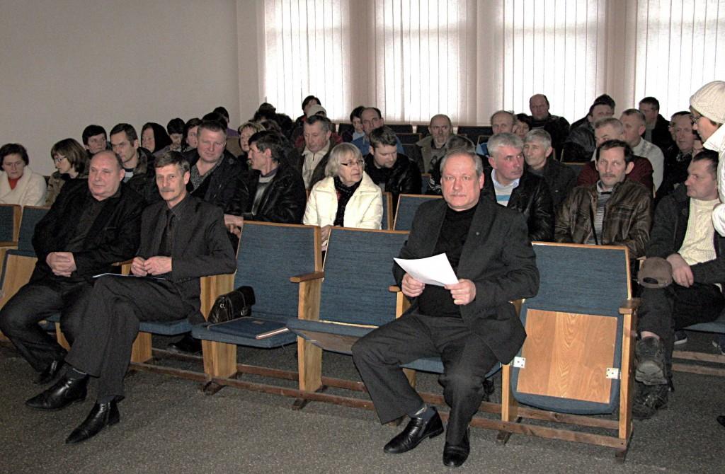 Susitikimas su LR Seimo nariu Remigijumi Žemaitaičiu Gardamo seniūnijoje.