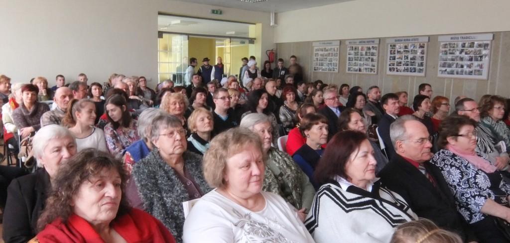 Vasario 16-osios minėjimo dalyviai sužinojo, kad Juknaičiai yra 2016 metų mažoji Lietuvos kultūros sostinė.