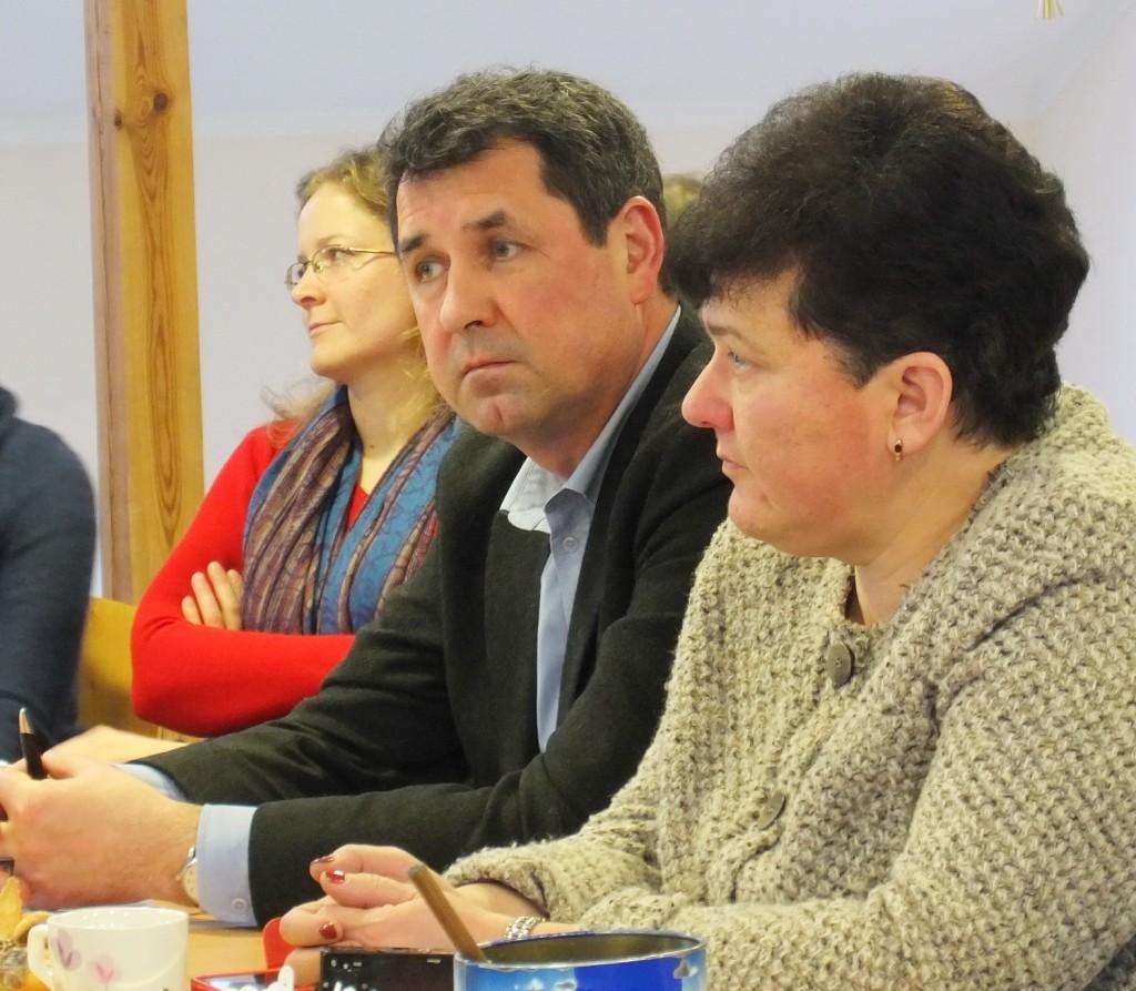 Kultūros viceministras Romas Jarockis, Kultūros paveldo departamento direktorė Diana Varnaitė pažadėjo, kad bus finansuojami du projektai, skirti Švėkšnos ir Žemaičių Naumiesčio sinagogoms tvarkyti.