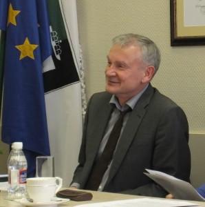 Opozicijos atstovas Jonas Jatautas.