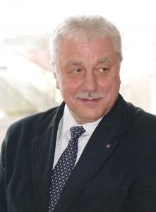 """UAB """"Šilutės vandenys"""" direktorius Alfredas Markvaldas ragino naumiestiškius aktyviau jungtis prie centralizuotos nuotekų sistemos."""