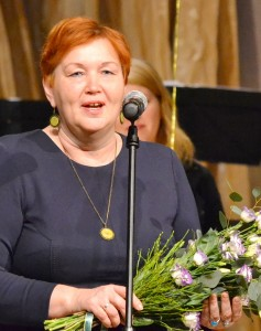 Kultūros darbuotojų vardu sveikinimo žodį tarė Kultūros skyriaus vedėja Vilma Griškavičienė.
