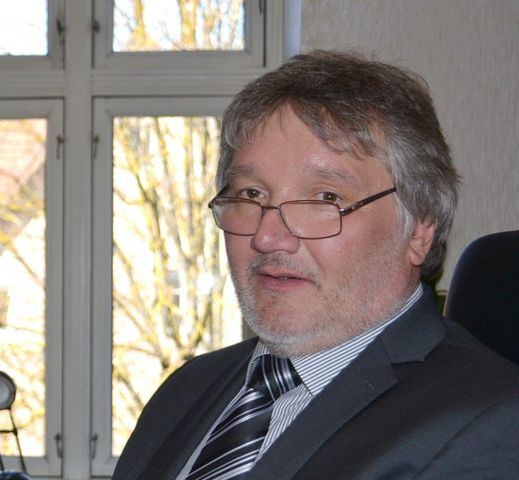 Naujasis Nacionalinės žemės tarnybos Šilutės skyriaus vedėjas Algirdas Balčiūnas.