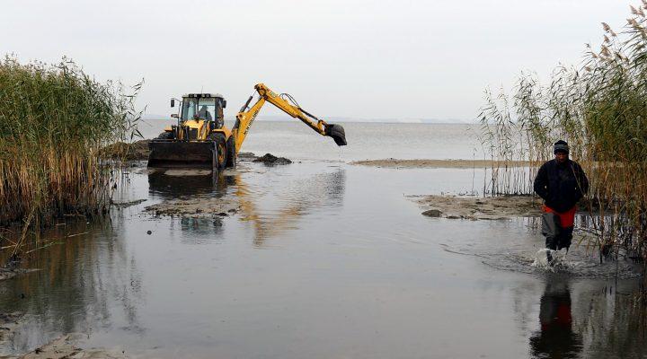 Aplinkos ministras domėjosi Kintų uosto padėtimi.