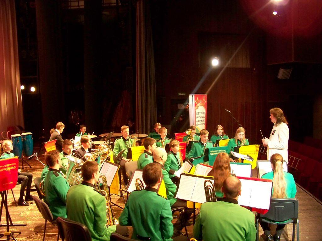 """Pučiamųjų instrumentų fanfarinis orkestras ,,Pamarys"""", kuriam vadovauja Gražvydas Raila, yra daugkartinis Lietuvos pučiamųjų instrumentų orkestrų čempionato dalyvis ir laureatas."""