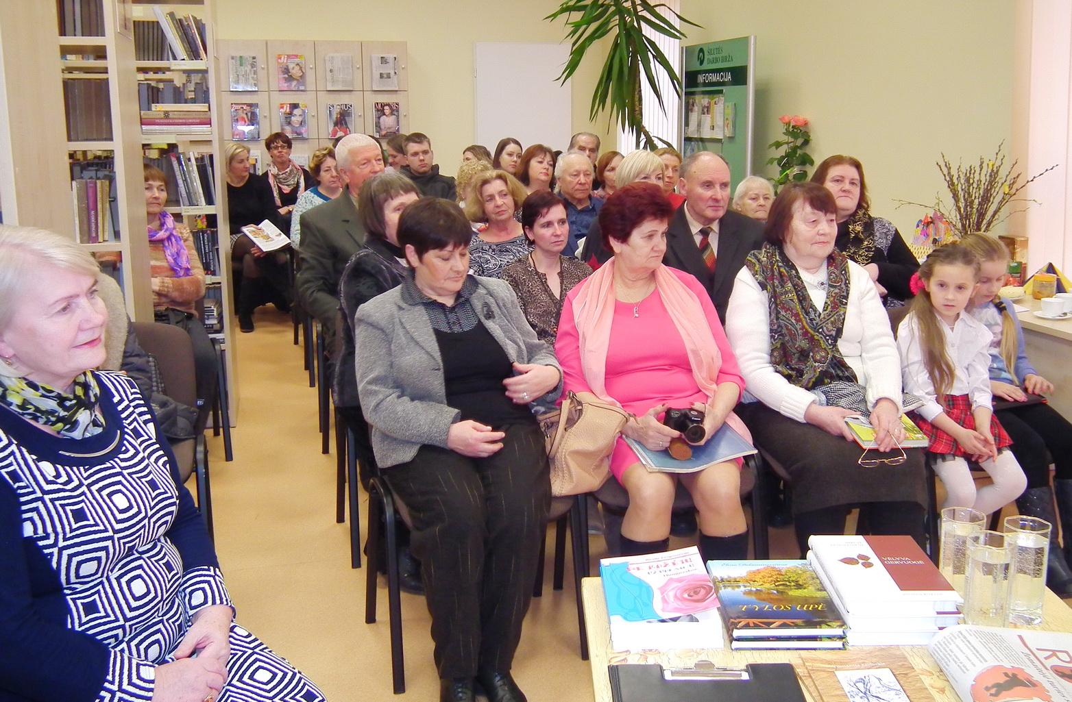 Kintų filiale susitiko poezijos mėgėjai ir kūrėjai.