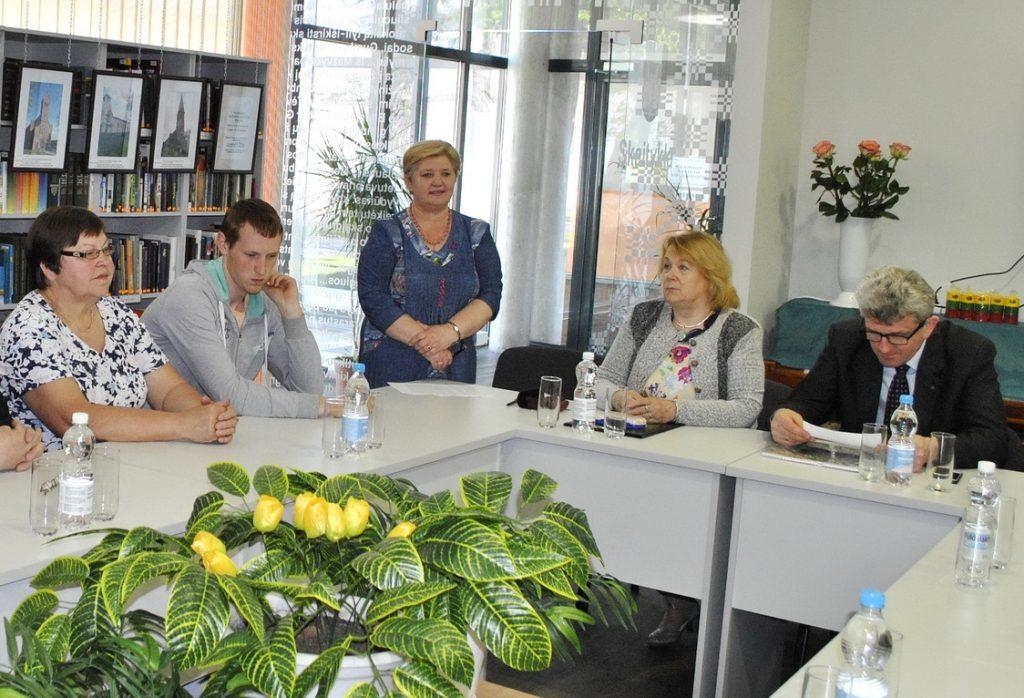 Forumą pradeda Pagėgių bibliotekos direktorė Elena Stankevičienė.
