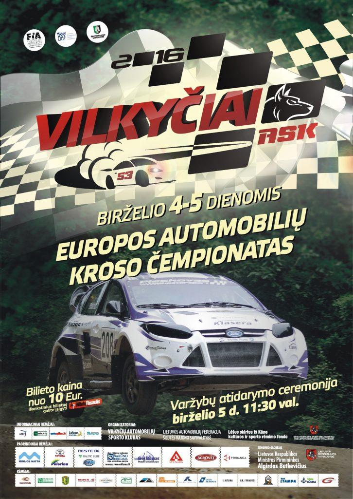 Europos automobilių kroso etape Vilkyčiuose daugiausiai bus lenktyniaujama bagių klasės automobiliais.