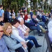 """Į Juknaičių šventę """"Visada jauni"""" susirinko vietiniai gyventojai, taip pat kaimynai iš Pašyšių, Leitgirių, Šilutės ir kitur."""