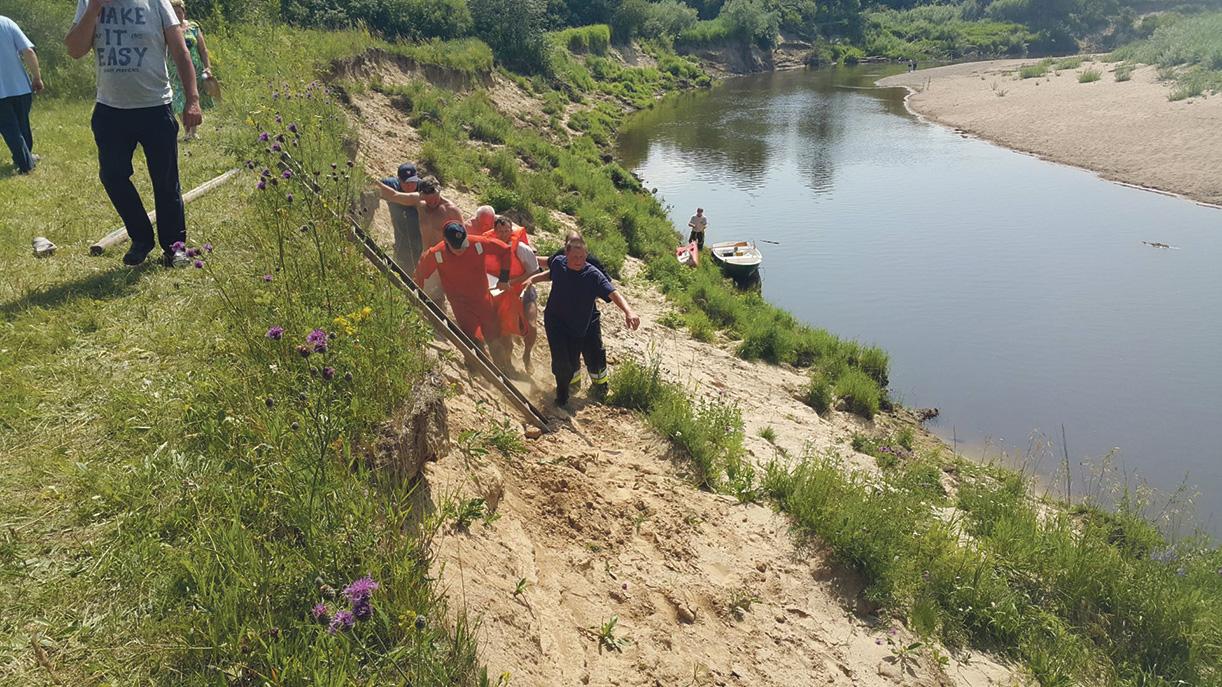 Maudynės Jūros upėje 26 m. vyrui baigėsi tragiškai. 15min.lt nuotr.