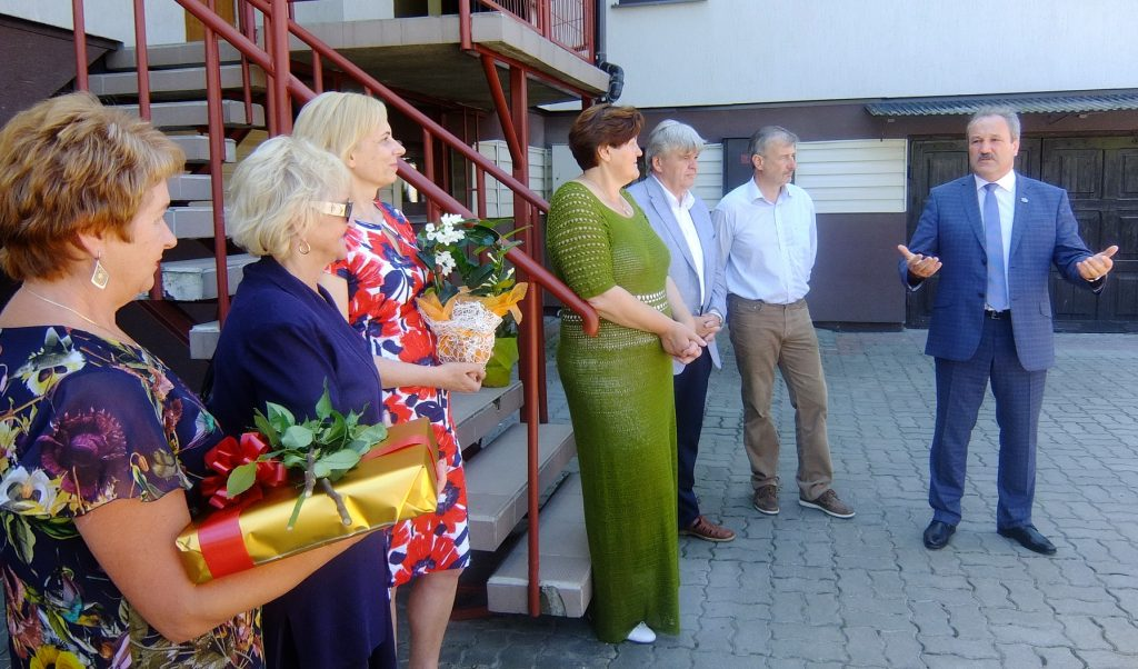 Meras Vytautas Laurinaitis pasidžiaugė, kad atsiranda drąsių žmonių, kurie imasi socialinių paslaugų verslo.