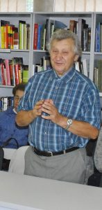 Vydūno idėjinį ir kūrybinį palikimą pristato Pagėgių krašto Garbės pilietis doc. dr. Vaclovas Bagdonavičius.