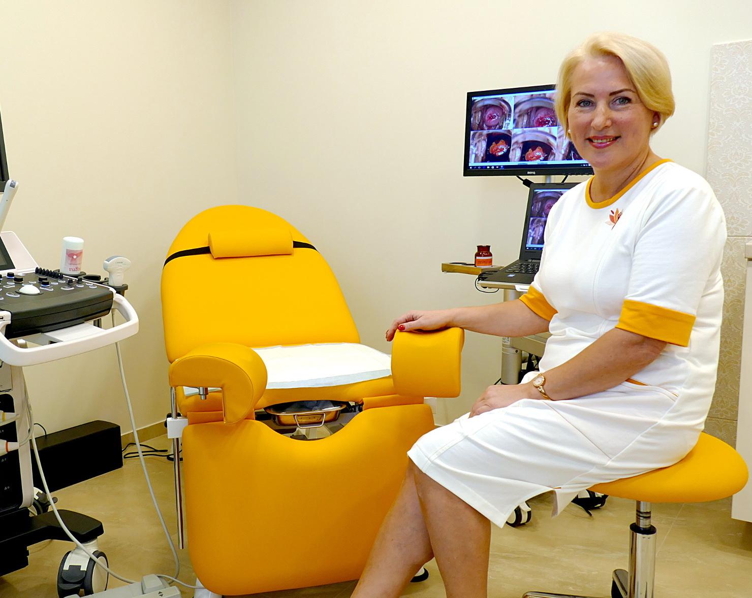 Moterų sveikatos centro steigėja Vida Kvederienė nesigaili išleidusi daug pinigų gerai medicinos įrangai.