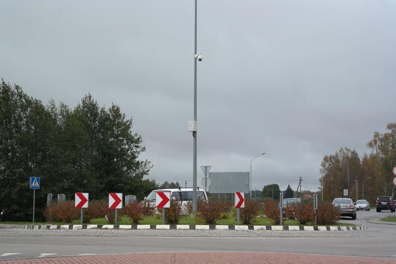 Įvairiose Šilutės vietose įrengtos vaizdo stebėjimo kameros.