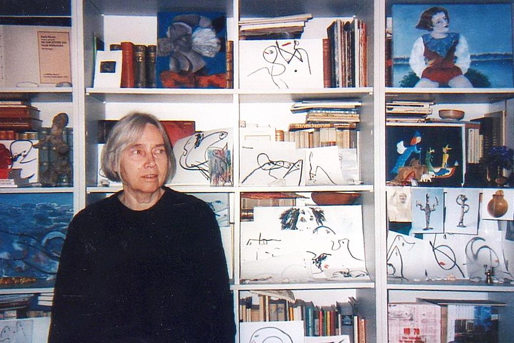 Menininkė Aldona Gustas.