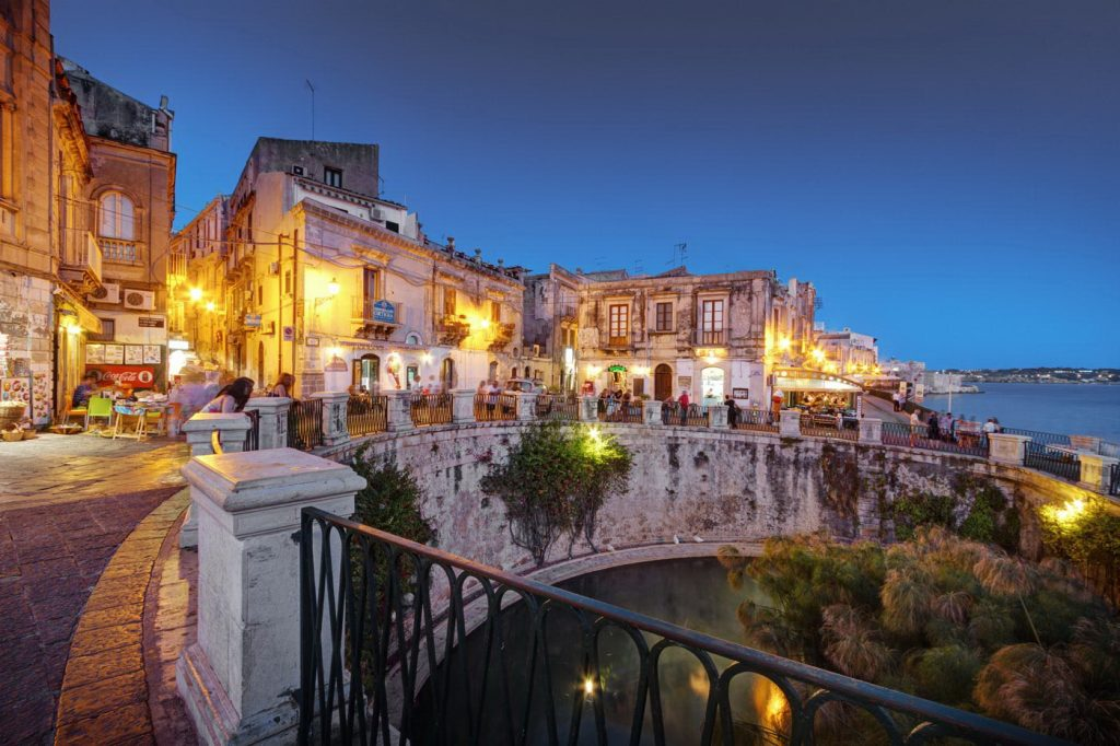 Sirakūzai, Sicilija.