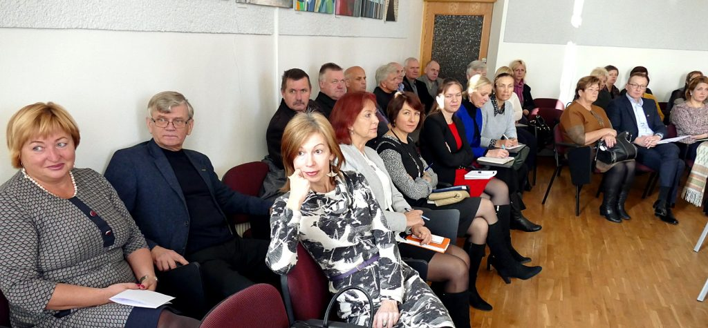 Kovai su korupcija skirtame seminare dalyvavo įvairių savivaldybės įmonių ir įstaigų atstovai.