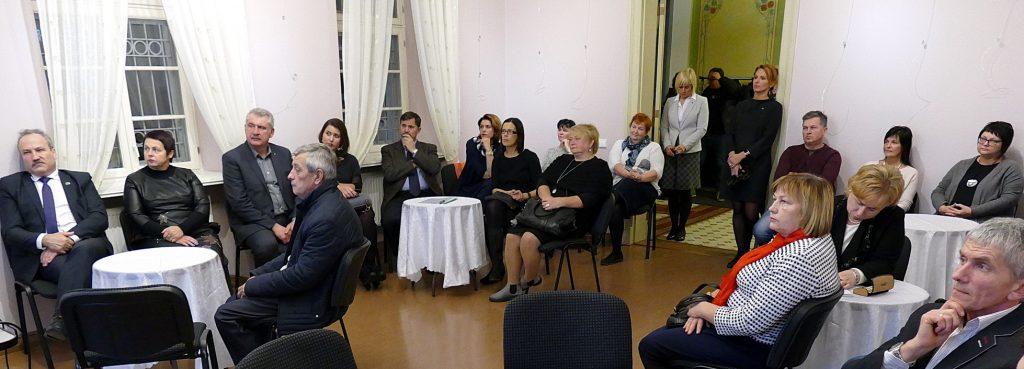 Šilutės turizmo informacijos centre įvyko susitikimas, kuriame dalyvavo turizmo verslo ir žiniasklaidos atstovai.