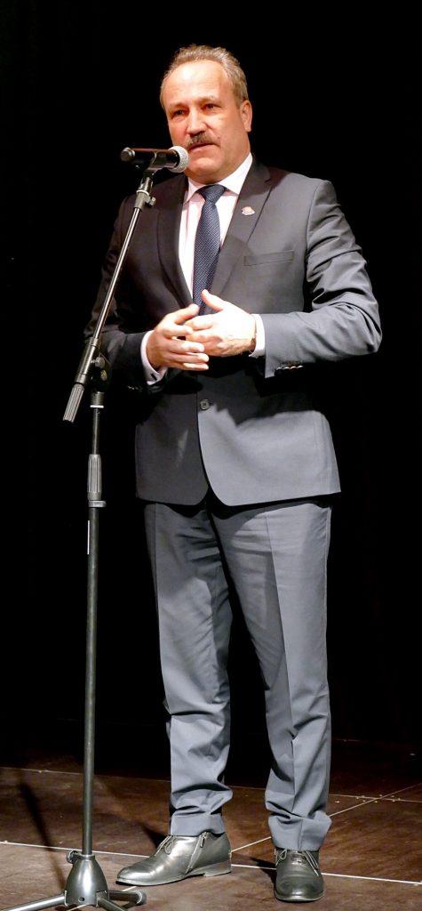 Šilutės r. savivaldybės meras Vytautas Laurinaitis pasakė sveikinimo kalbą.