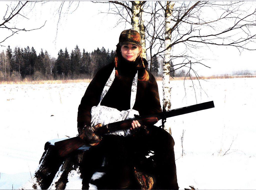 Daina Bosas - taip pat medžiotoja.