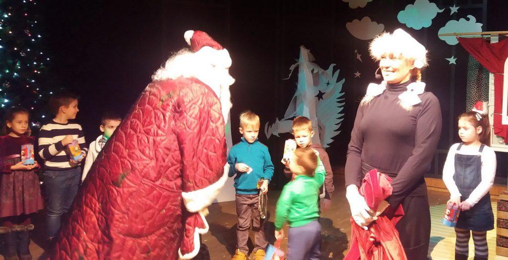 Kalėdų senelis atvyko į Šilutę pas vaikučius.