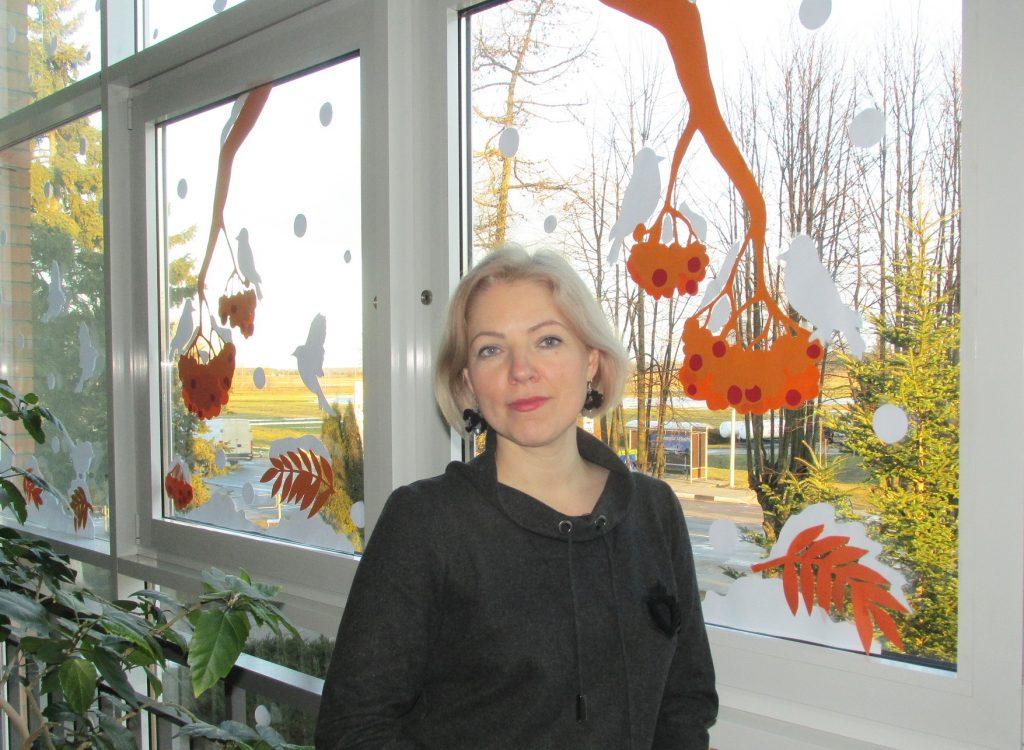 Saugų Jurgio Mikšo pagrindinės mokyklos puošyba rūpinasi dailės ir technologijų mokytoja Rita Šleinytė.