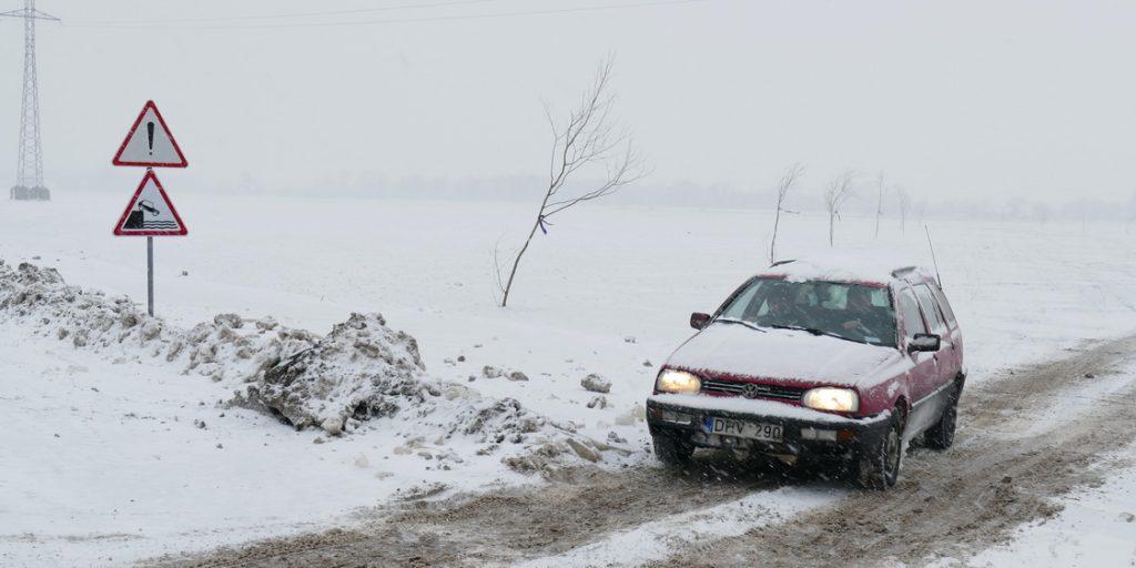 Ledo kelias įveiktas saugiai.